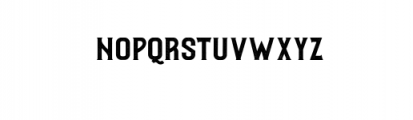 Roister Typeface Font LOWERCASE