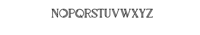 Rollfast-Regular Font UPPERCASE