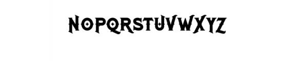 RomanBlackBold.otf Font UPPERCASE