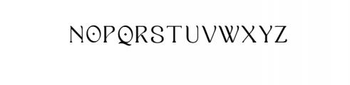 Ropiea - Modern Elegant Font Font UPPERCASE