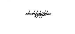 Rosellinda Alyamore Font LOWERCASE