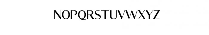 Rottles Serif.ttf Font UPPERCASE