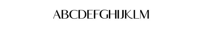 Rottles Serif.ttf Font LOWERCASE