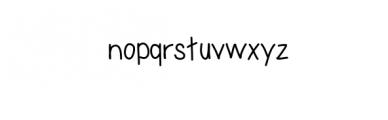 Roughly Write Set / Handwriting / 194 glyphs / ttf Font LOWERCASE