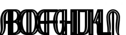 Royal Wedding Engraved Font UPPERCASE