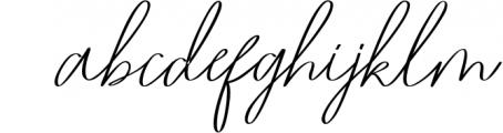 Romtthing Girl - Signature Stylish Font LOWERCASE