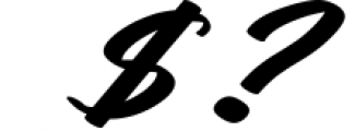 Rotterdalle Hand Lettered Script 1 Font OTHER CHARS