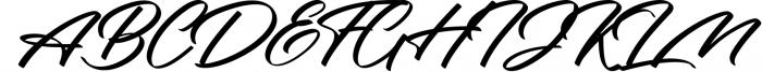 Rotterdalle Hand Lettered Script 1 Font UPPERCASE