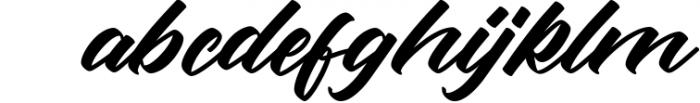 Rotterdalle Hand Lettered Script Font LOWERCASE