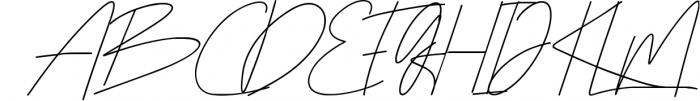 Rottles Signature Font 1 Font UPPERCASE