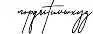 Rottles Signature Font 1 Font LOWERCASE