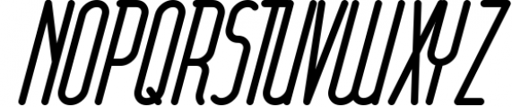 Round compound 1 Font UPPERCASE