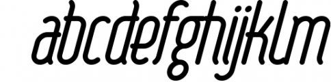 Round compound 1 Font LOWERCASE