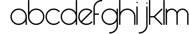 Round compound 2 Font LOWERCASE