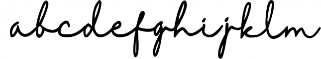 Royal Wedding - Signature Modern Font Font LOWERCASE