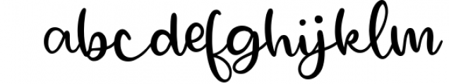 Royally - A Hand Lettered Font Script with Heart Swashes 1 Font LOWERCASE