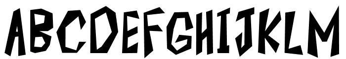 ROCK KAPAK2 Font UPPERCASE