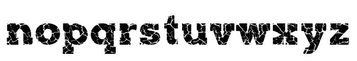 ROCK-ON Demo Font LOWERCASE