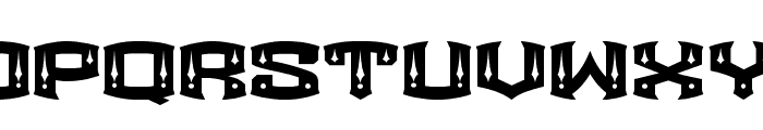 ROCKETAIR Font UPPERCASE
