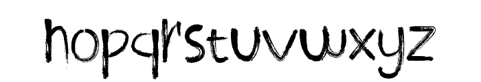 ROODY LAST Font LOWERCASE