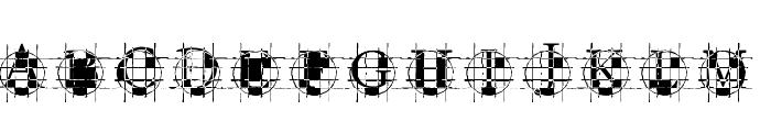 ROundGraph Font UPPERCASE
