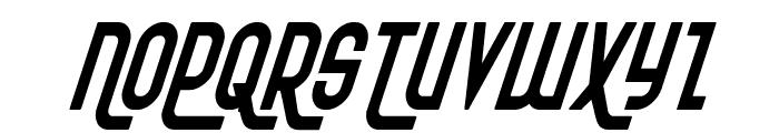 Ro'Ki'Kier Condensed Italic Font UPPERCASE