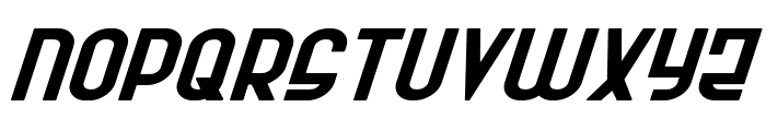 Ro'Ki'Kier Expanded Italic Font LOWERCASE
