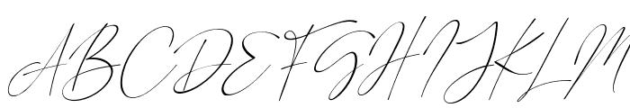 Road Sunshine Italic Font UPPERCASE