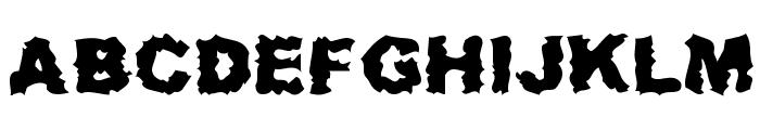 RoadKill Font UPPERCASE