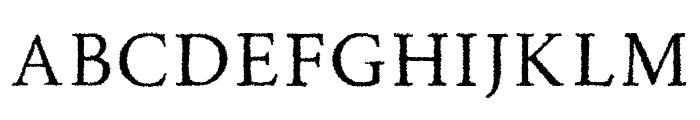 RoadRaceFree-Rough Font LOWERCASE