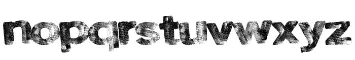 RoadSkin Font LOWERCASE