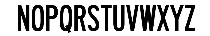 Roadway Font UPPERCASE