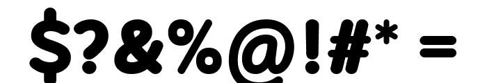 Robaga Rounded Black Font OTHER CHARS