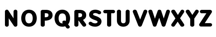 Robaga Rounded Black Font UPPERCASE