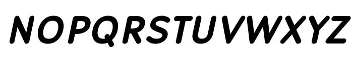 Robaga Rounded Bold Italic Font UPPERCASE