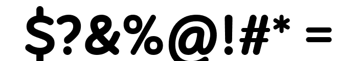 Robaga Rounded Bold Font OTHER CHARS
