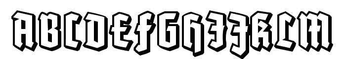 Robert Regular Font UPPERCASE