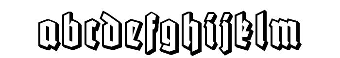 Robert Regular Font LOWERCASE