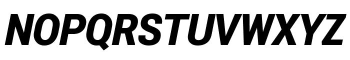 Roberto Sans Black Italic Font UPPERCASE