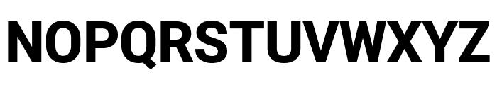 Roberto Sans Black Font UPPERCASE