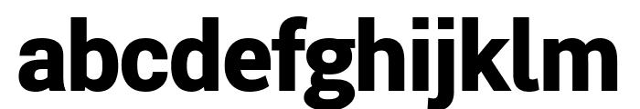 Roberto Sans Black Font LOWERCASE