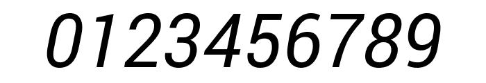 Roberto Sans Italic Font OTHER CHARS