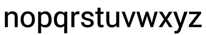 Roberto Sans Medium Font LOWERCASE
