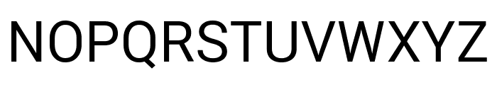 Roberto Sans Font UPPERCASE