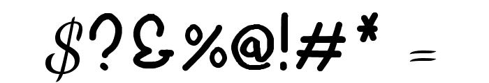 Robertokyo Gomitakihara Regular Fonty Font OTHER CHARS