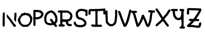 Robertokyo Gomitakihara Regular Fonty Font UPPERCASE
