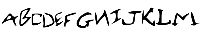 RobertsFont Font LOWERCASE