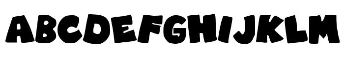 RobinGraffitiFilledin Font UPPERCASE