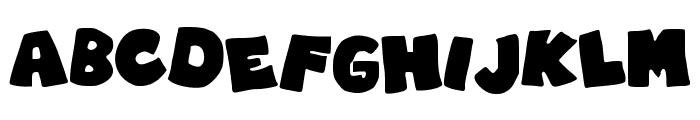 RobinGraffitiFilledin Font LOWERCASE