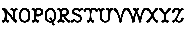 Robinne Truecase Font UPPERCASE